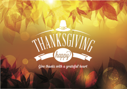 Free-vector-happy-thanksgiving-background